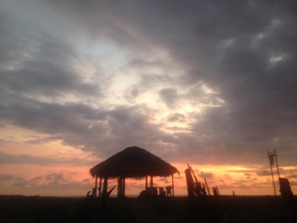 Sunset, Las Tunas, Ecuador