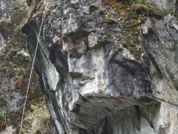 Jesus in the Rock