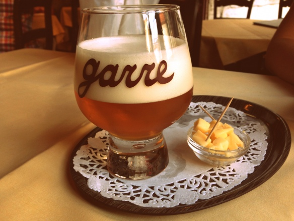 Garre, Bruges (the house bar, which isn't just found in Bruges, it's only found at this one bar--it was my second favorite)
