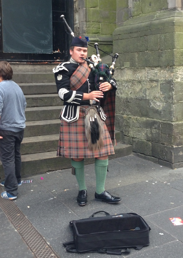 "The first thing I heard upon arriving in Edinburgh was buskers singing The Proclaimers' ""500 Miles."" The last thing I heard was the sweet whine of bagpipes as I boarded my bus."