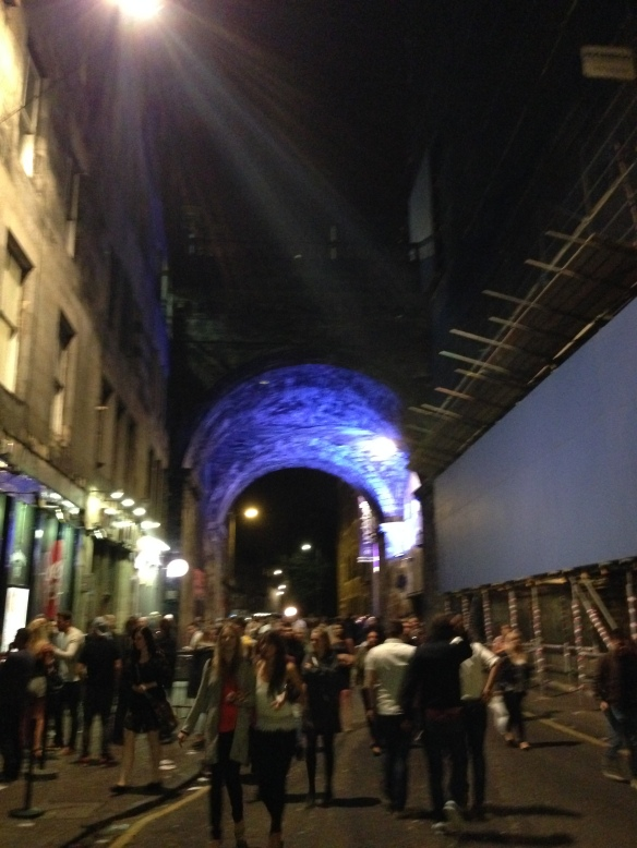 Cowgate was the big nightlife part of the city