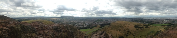 Panoramic Edinburgh