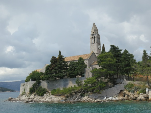 The church on Lopud Island