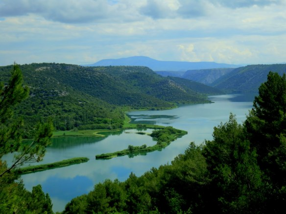 The Krka River
