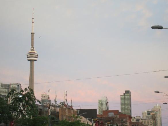 Sunset, Toronto