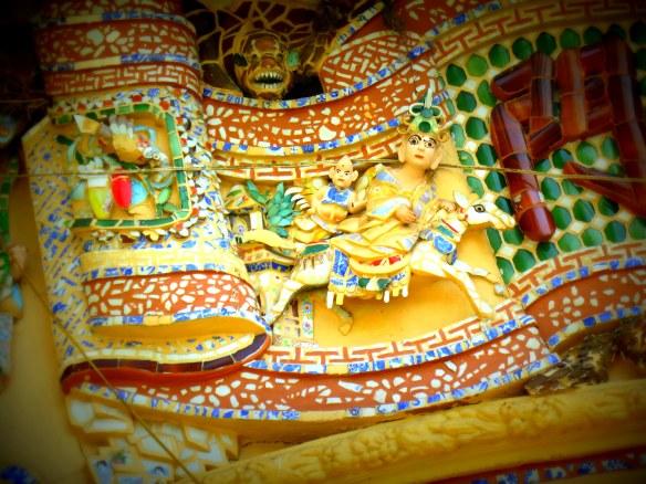 Vinh Trang Pagoda, My Tho, Vietnam; April 1, 2013