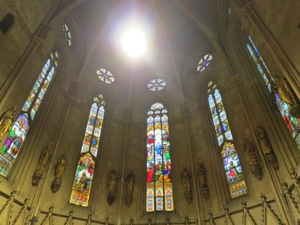 I always enjoy a good stained glass window