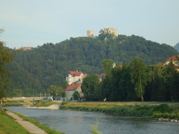Celje Castle on the hill