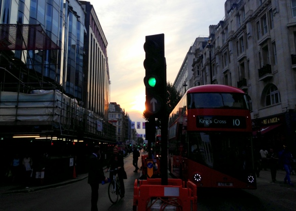 Sunset, London, England