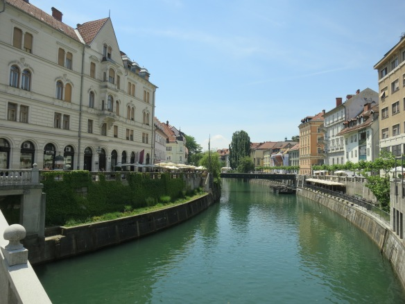 Along the Ljubljanica River