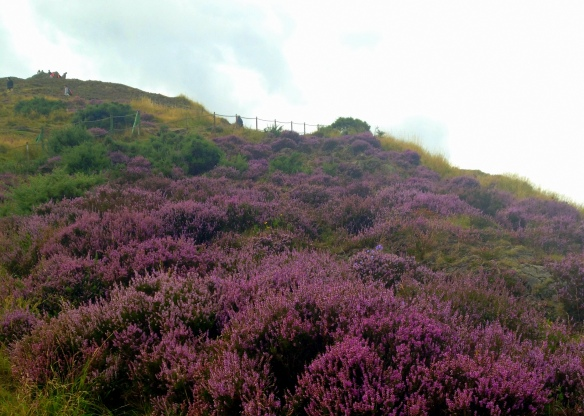 Arthur's Seat, Edinburgh, Scotland; August 20, 2014