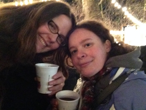Mulled wine with Liz