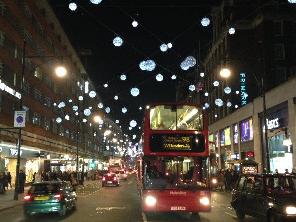 Oxford Street lights