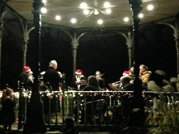Carols with a brass band