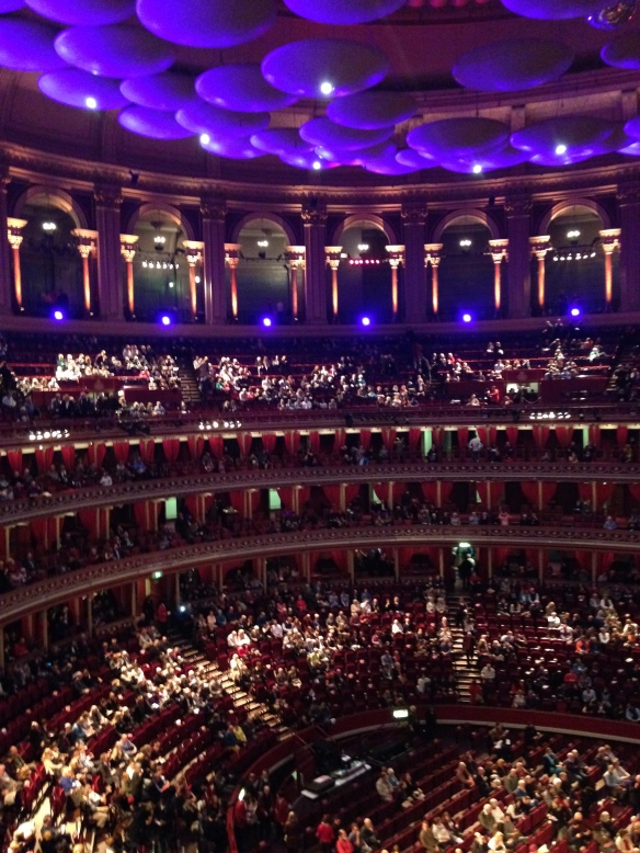 Beautiful interior of Royal Albert Hall
