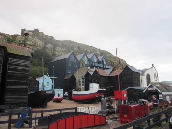 Proper fishing village
