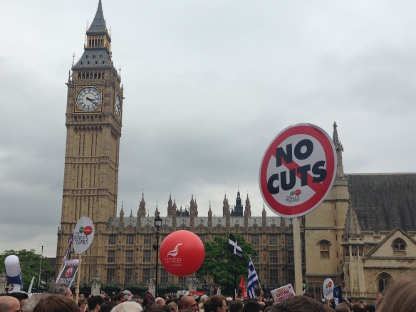 #EndAusterityNow Demo in London