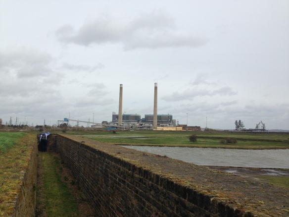 Along the ramparts of Tilbury Fort