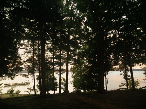 Sunrise, Glen Lake, Michigan
