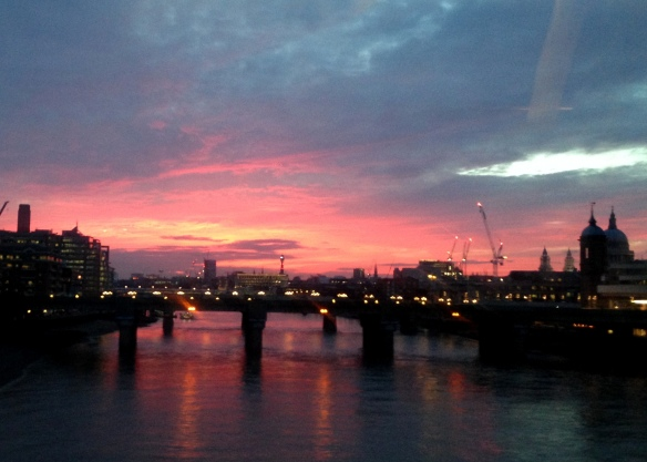 Sunset, London, England
