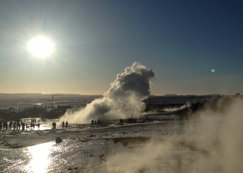 Iceland Geysir Golden Circle