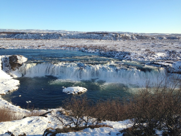 Iceland Faxafoss Golden Circle
