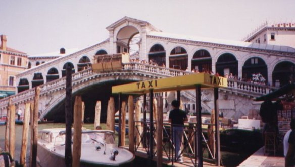 The Rialto, Venice, Italy; August 2001