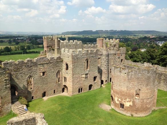 Ludlow Castle, England; July 24, 2014