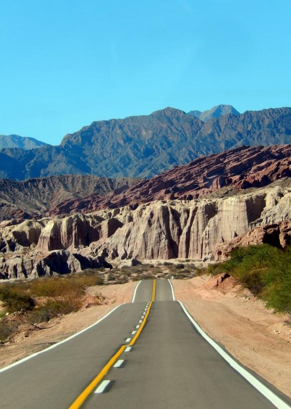 Quebrada de Cafayate, Argentina; June 9, 2014