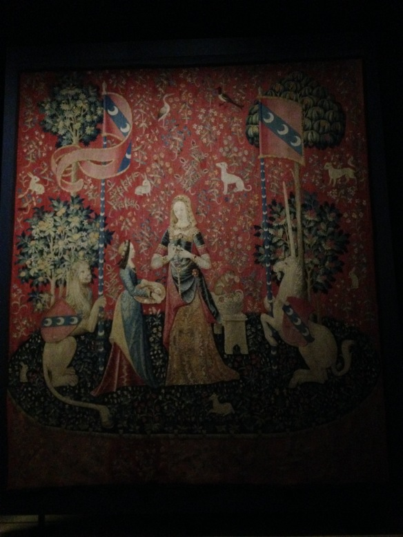 the lady and the unicorn tapestry paris