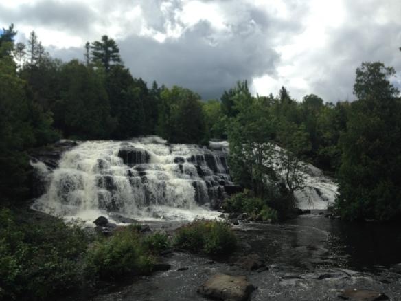 bond falls waterfalls upper peninsula michigan