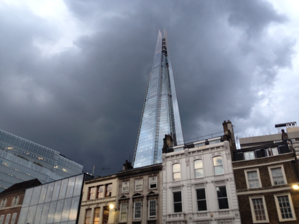 the shard london england