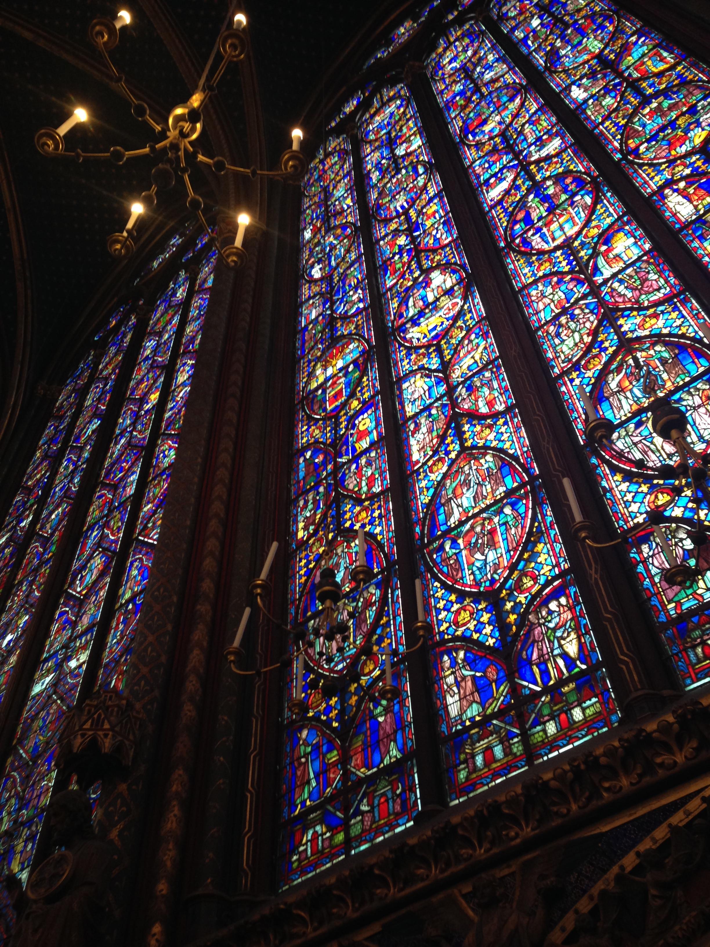 sainte chapelle paris france witww