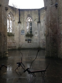 Art installation in the Anglican Chapel