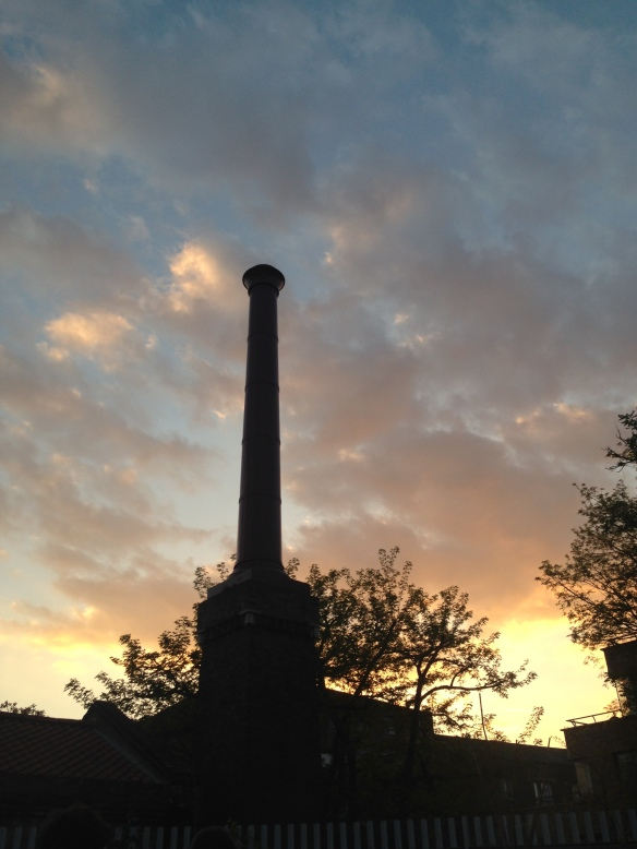 Sunset, Brunel Museum, London, England