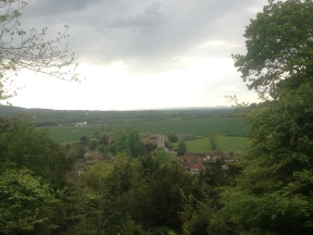 Aldbury from up on the ridge