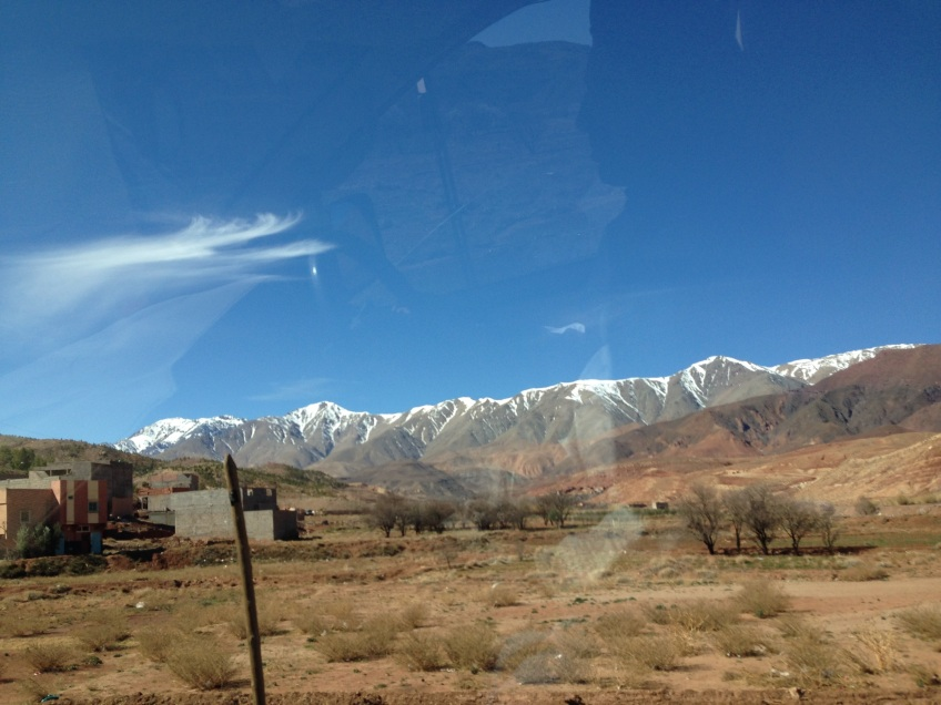 high atlas mountains morocco road trip