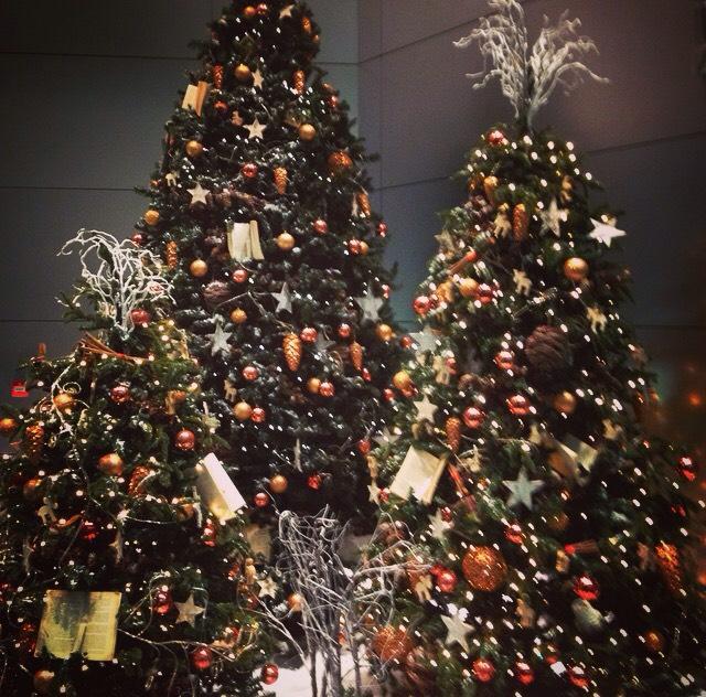 christmas tree london england