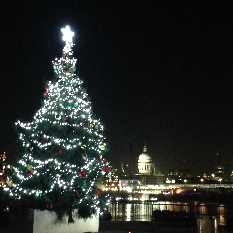 london christmas st pauls